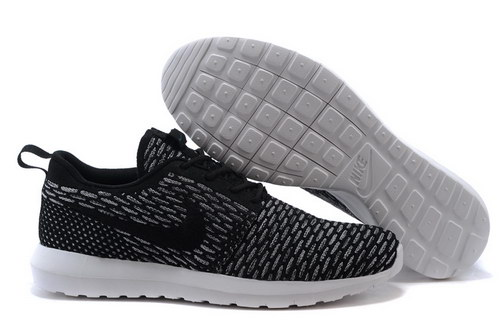 Womens Nike Flyknit Roshe Run Nm Black Greece